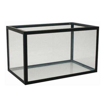 Akvarium 375 liter (svart aluminium)