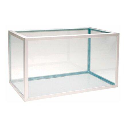 Akvarium 105 liter (naturanodiserad aluminium)