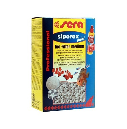 Sera Siporax Mini Bio filter medium 270g