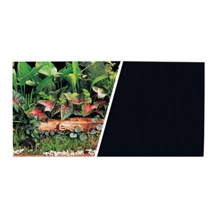 Bakgrund 49 cm Växtlighet/Svart