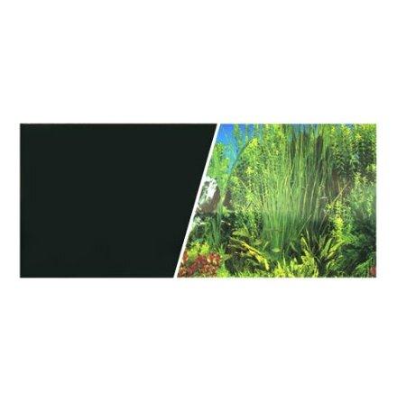 Bakgrund 49 cm Växtlighet/Svart långt gräs