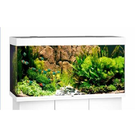Akvarium Rio 350 liter (vit med LED)