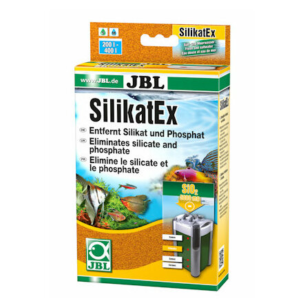 SilkatEx filtermedia 400ml