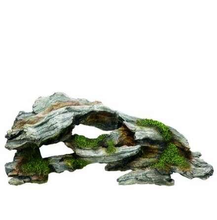 Trädgren med mossa 2 42,8x11,8x14 cm