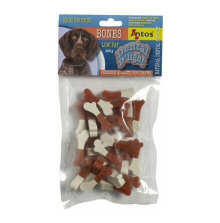 Hundsnacks Dental D´light Bones 100gr