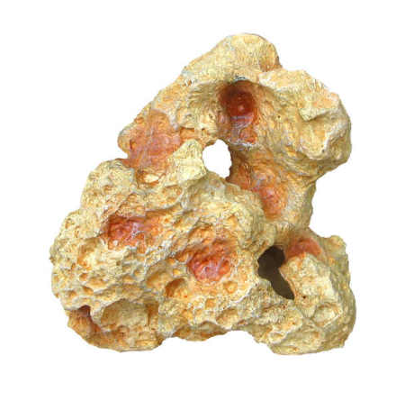 Sten med hål liten 15x8x16