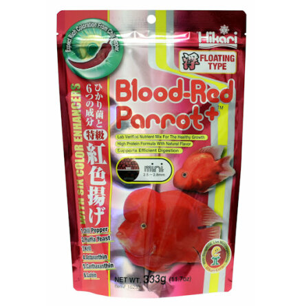 Blood-Red Parrot Pellets Mini