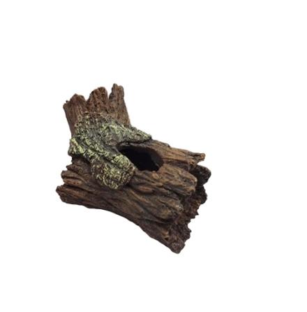 Trädgren med hålighet. 14x8,5x9cm