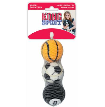 Små bollar Kong Sport XS 3-pack D=4 cm