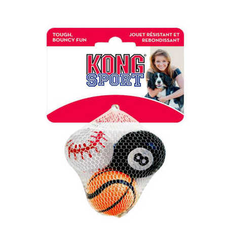 Kong Sportball S 3-pack