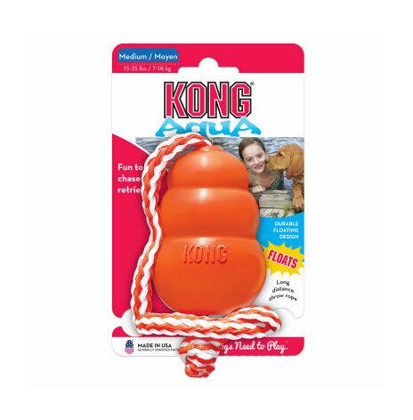 Kong Aqua med snöre medium