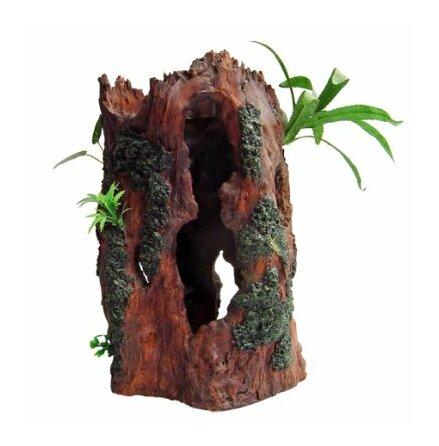 Trädstam med växt 24x20x38cm