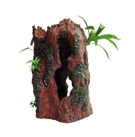 Trädstam med växt 24x20x38cm/utgått