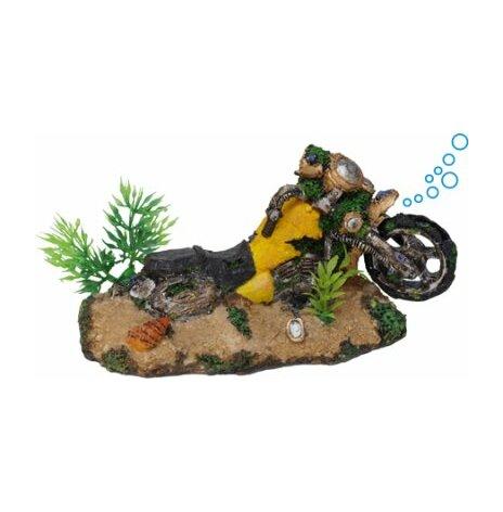 Motorcykel med luft 18x9x9,5cm/utgått