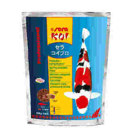 Koi Professional Vår/Höst foder 3mm 2,2 kg Sera