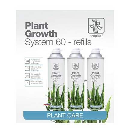 System 60 Co2 Refill 3st Tropica