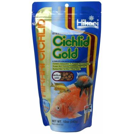 Hikari Ciklid Gold Sinking Medium 342g