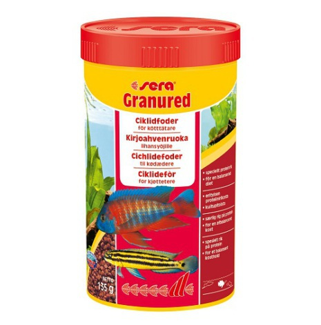 Granured Ciklidfoder 250 ml