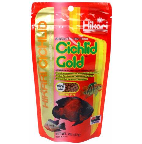 Hikari Ciklid Gold Färg Mini floating 57g