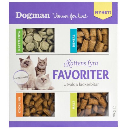Kattens 4 favoriter 95g, Dogman
