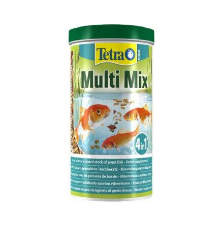 MultiMix 4 i ett dammfiskfoder