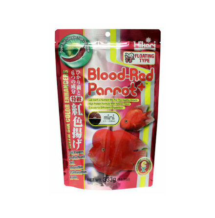 Blood-Red Parrot+ mini flytande pellets 333g