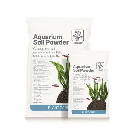 Aquarium Soil Powder <2 mm
