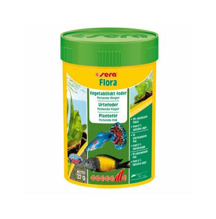 Flora flingor vegetabiliskt foder 250 ml/60 g