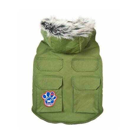 Canada Pooch Winter wilderness jacka 25 cm militärgrön