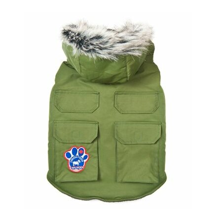 Canada Pooch Winter wilderness jacka 40 cm militärgrön