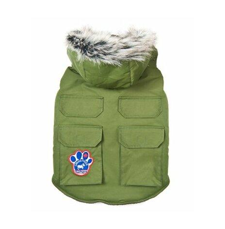 Canada Pooch Winter wilderness jacka 40 cm militärgrön