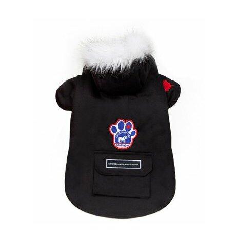 Canada Pooch Winter wilderness jacka 50 cm militärgrön och svart