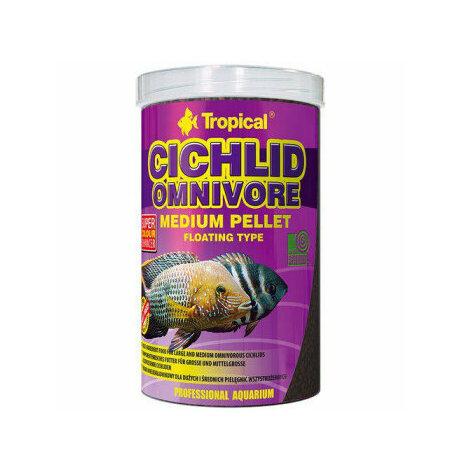 Cichlid omnivore M pellets flytande