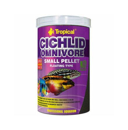 Cichlid omnivore S pellets flytande