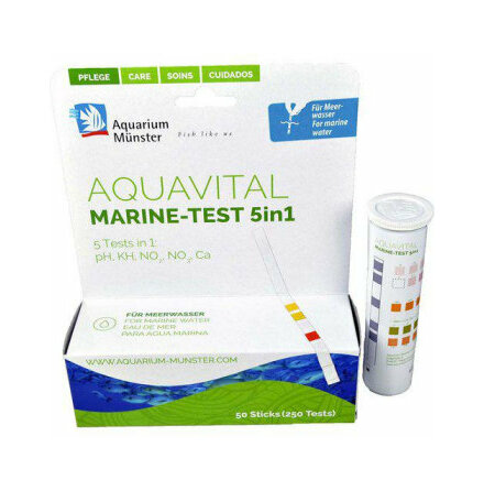 Aquavital marine-test 5 i 1 50 sticks