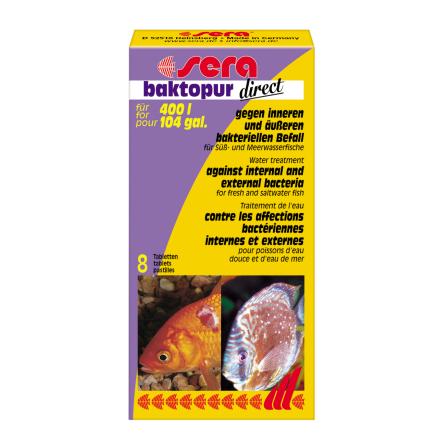 Sera Bactopur tabl