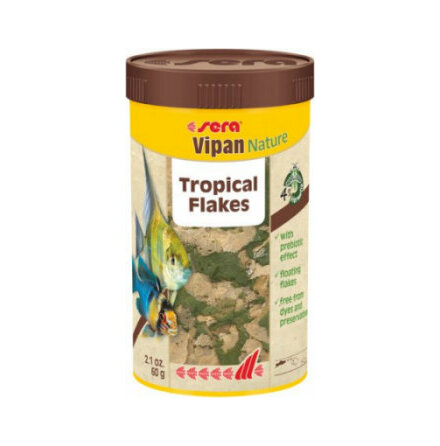 Vipan Nature Huvudfoder flingor 250ml/60 g