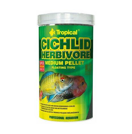 Cichlid herbivore M pellets flytande