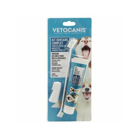 Vetocanis tandborste/tandkräm 85g M/L