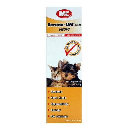 Serene-Um droppar lugnande droppar till hund och katt 100 ml