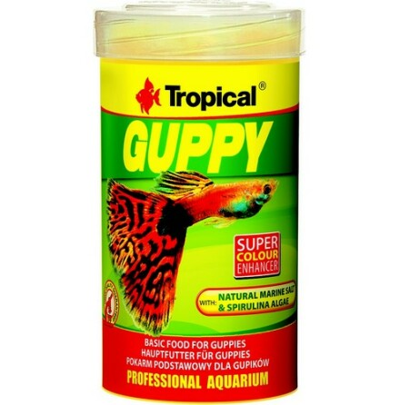 Tropical Guppy Flake