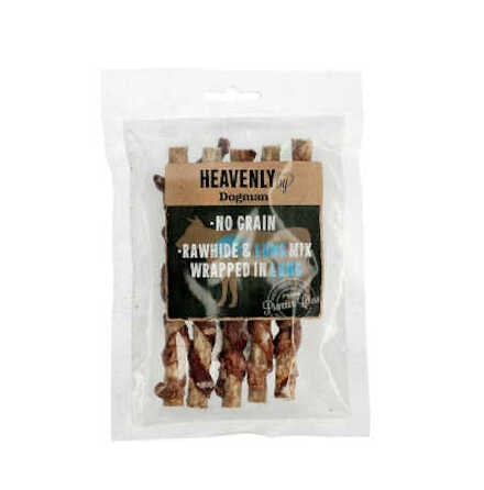Hundtugg pinne Heavenly Mix S no grain råhud/oxlunga 5st/43 g