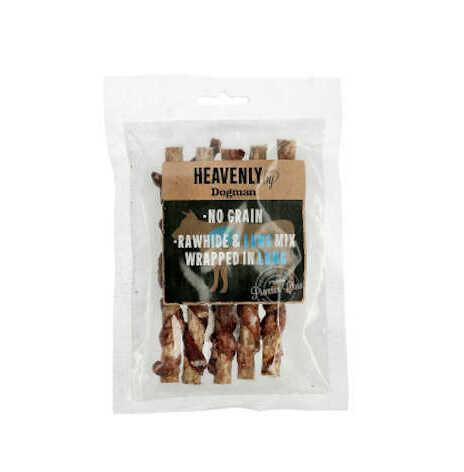 Hundtugg pinne Heavenly Mix S no grain råhud/oxlunga 5st/43 g