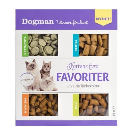 Kattens 4 favoriter 95g, Dogman