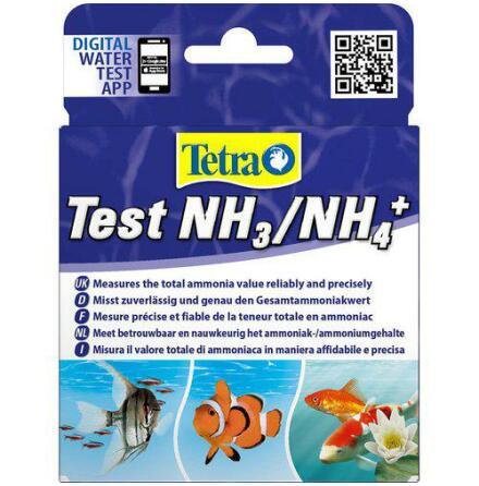 Test NH3/NH4+ Tetra räcker till 25 test