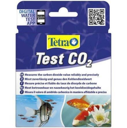 Test CO2 koldioxid Tetra 2x10 ml