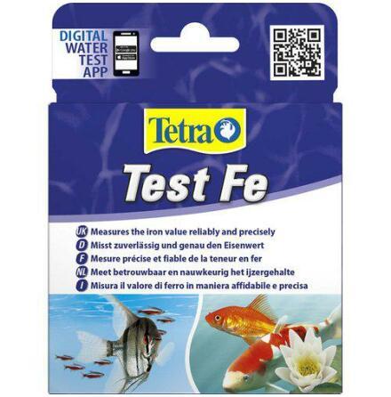 Test Fe Järn Tetra räcker till 35 tester