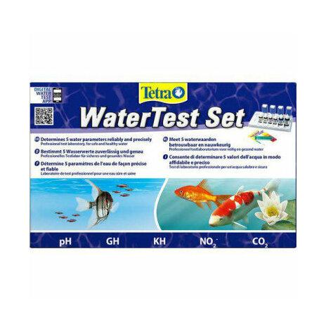 Testset 5 parametrar Ph, GH, KH, No2 och CO2 Tetra