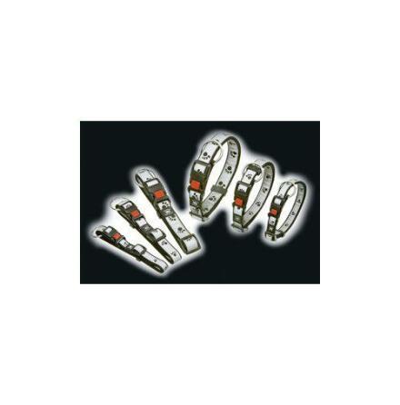 Hundhalsband nylon/reflex med tassar S 15 mm x 30-45 cm Karlie