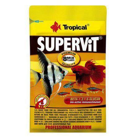 Supervit flakes 12 g Zippåse, Tropical